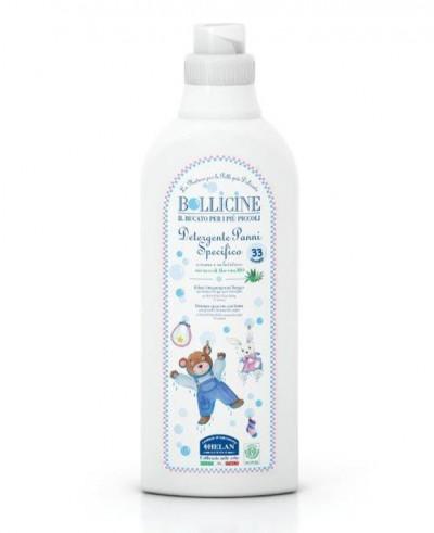 Nežen detergent za perilo BOLLICINE BIO