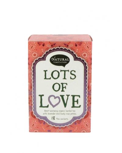 LOTS OF LOVE - ekološki zeliščni čaj