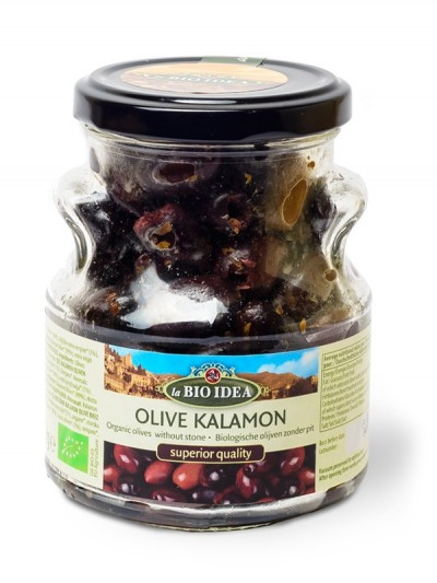 Črne kalamata olive razkoščičene BIO