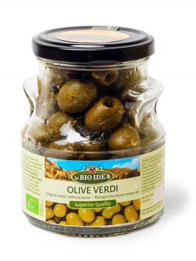 Zelene olive razkoščičene BIO
