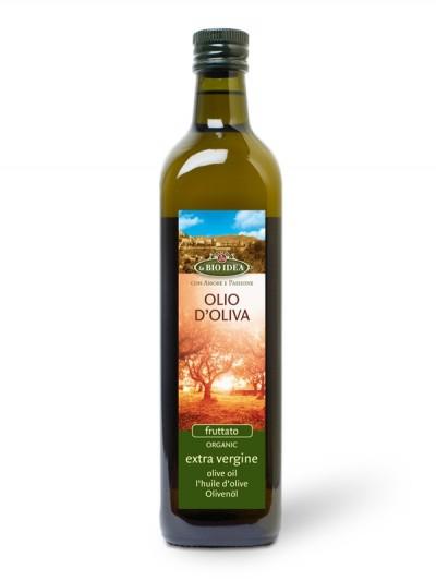 Oljčno olje ekstra deviško Fruttato BIO