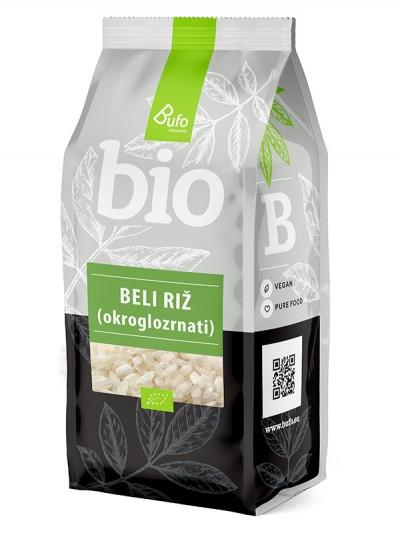 Beli okroglozrnati riž BIO